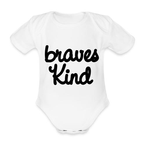 braves kind - Baby Bio-Kurzarm-Body