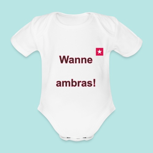 Wanne ambras verti mr def b - Baby bio-rompertje met korte mouwen