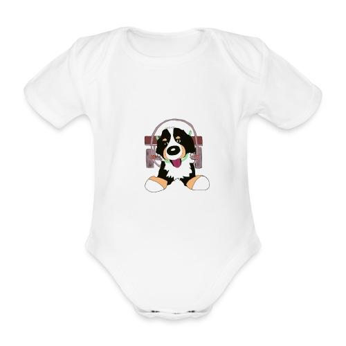 Bernerdrag - Ekologisk kortärmad babybody