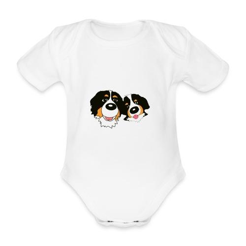 hane och hona - Ekologisk kortärmad babybody