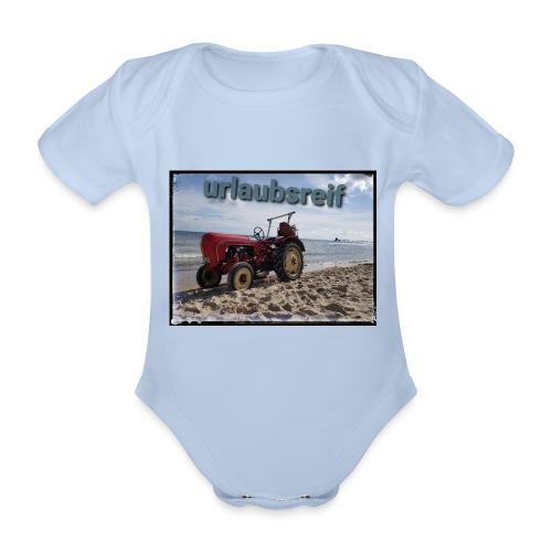 urlaubsreif - Baby Bio-Kurzarm-Body