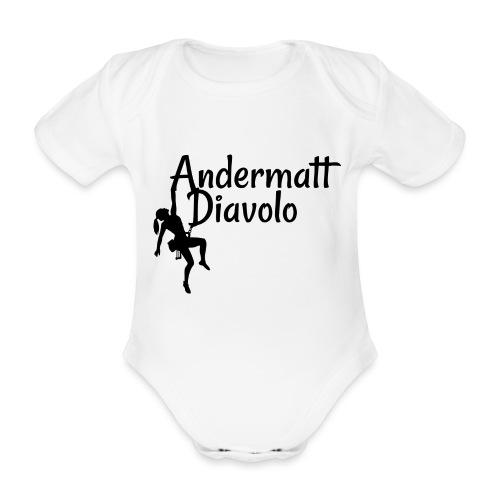 Andermatt Diavolo Uri Geschenkidee - Baby Bio-Kurzarm-Body