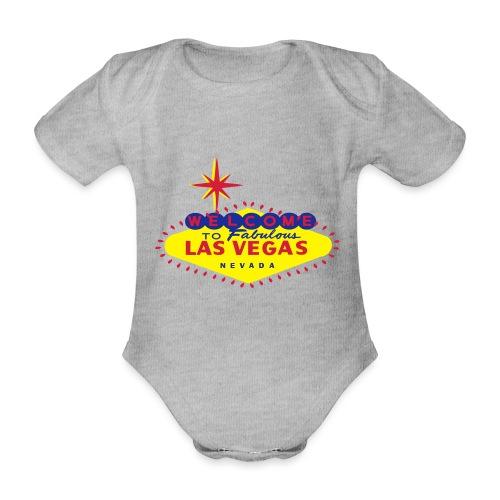 LAS VEGAS - Organic Short-sleeved Baby Bodysuit