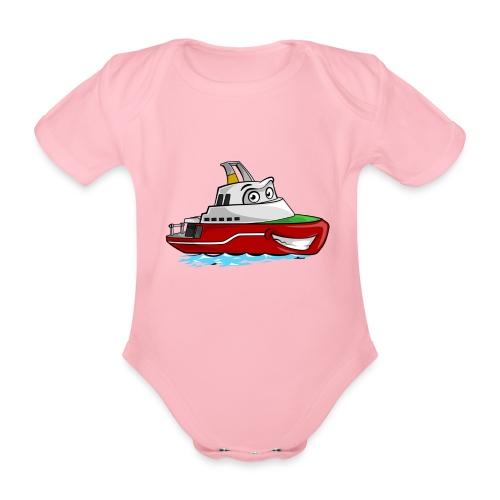 Boaty McBoatface - Organic Short-sleeved Baby Bodysuit