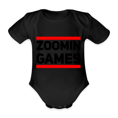 9815 2CRUN ZG - Organic Short-sleeved Baby Bodysuit