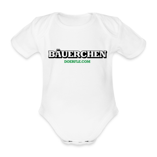 Bäuerchen - Baby Bio-Kurzarm-Body