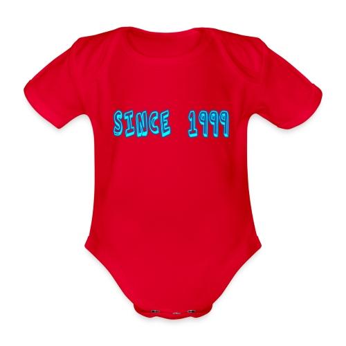 Since 1999 - Vauvan lyhythihainen luomu-body