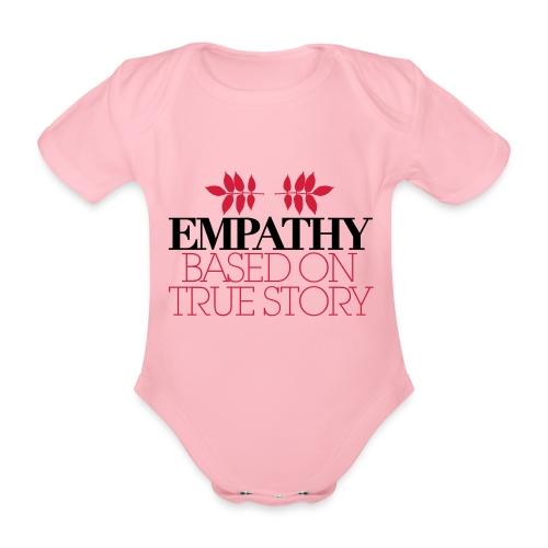 empathy story - Ekologiczne body niemowlęce z krótkim rękawem