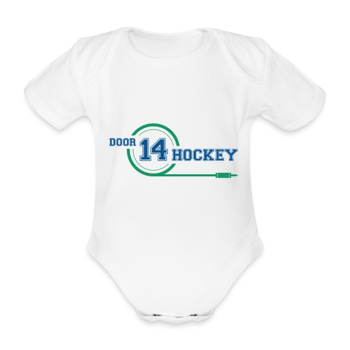 D14 HOCKEY - Organic Short-sleeved Baby Bodysuit