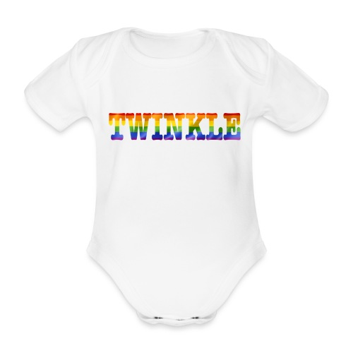 twinkle - Organic Short-sleeved Baby Bodysuit