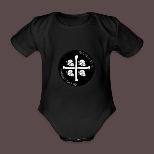 Sardegna Quattro Mori Pirata - Body ecologico per neonato a manica corta