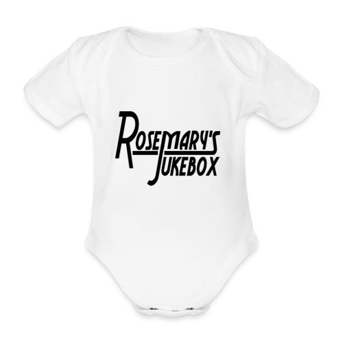 rosemarys jukebox - Baby bio-rompertje met korte mouwen