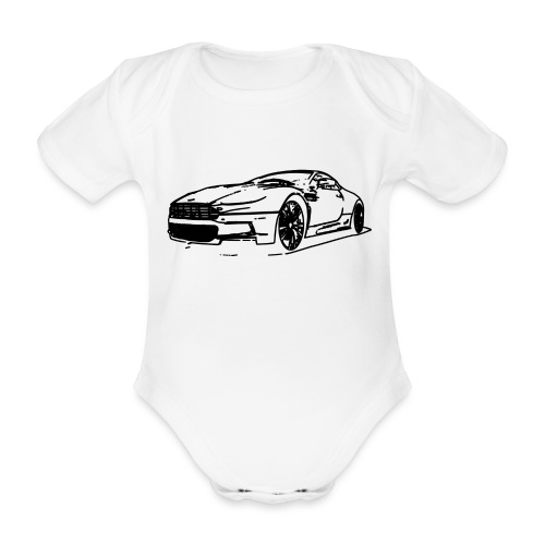 Aston Martin - Organic Short-sleeved Baby Bodysuit
