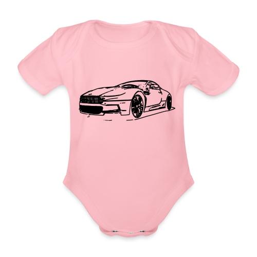 Aston Martin - Organic Short-sleeved Baby Bodysuit