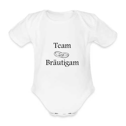 Team Braeutigam - Baby Bio-Kurzarm-Body
