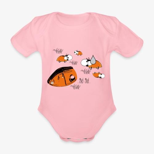 Gri gri - climbing - Organic Short-sleeved Baby Bodysuit