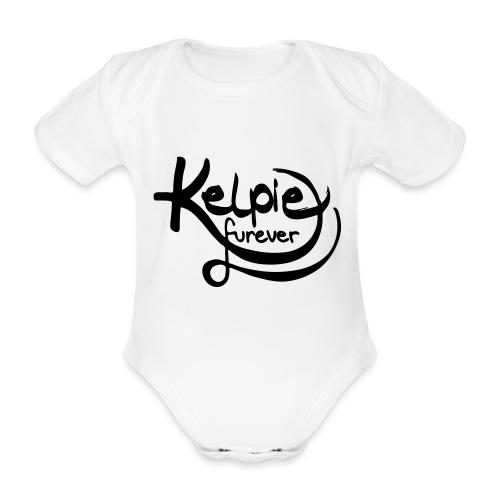 Kelpie furever - Baby Bio-Kurzarm-Body