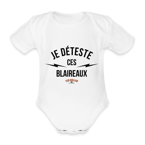 Blaireaux - Body Bébé bio manches courtes