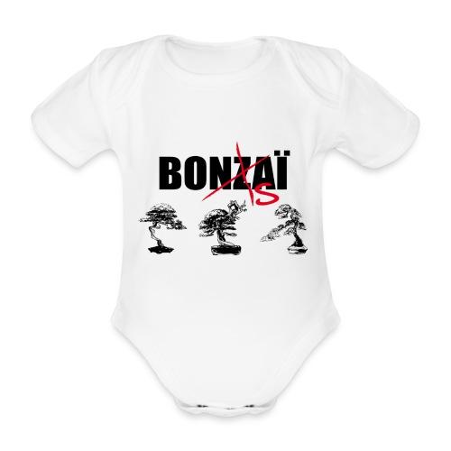 Bonsaï sans Z - Body Bébé bio manches courtes