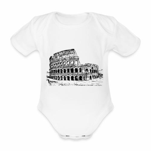 Kolosseum - Baby Bio-Kurzarm-Body