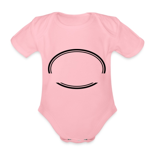 Kreis offen - Baby Bio-Kurzarm-Body