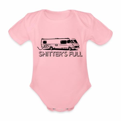 shitters full - Body ecologico per neonato a manica corta