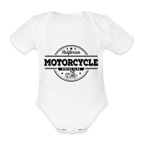 Baby Motorrad - Baby Bio-Kurzarm-Body