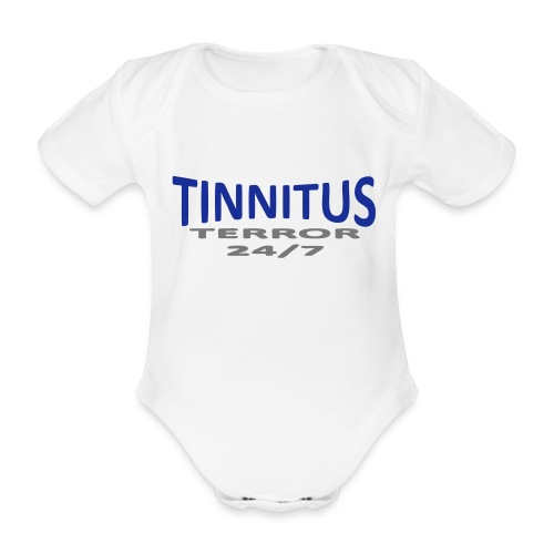terror - Økologisk kortermet baby-body