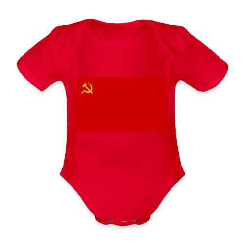 Eipä kestä - Vauvan lyhythihainen luomu-body