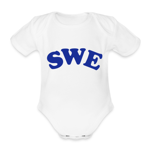 T-shirt, SWE - Ekologisk kortärmad babybody