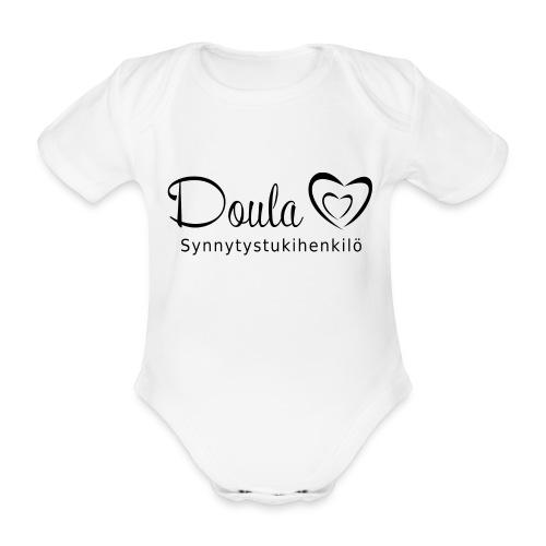 doula sydämet synnytystukihenkilö - Vauvan lyhythihainen luomu-body