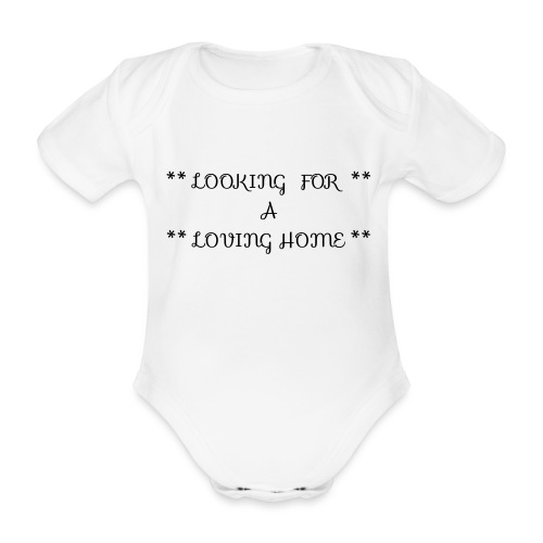Loving home - Vauvan lyhythihainen luomu-body