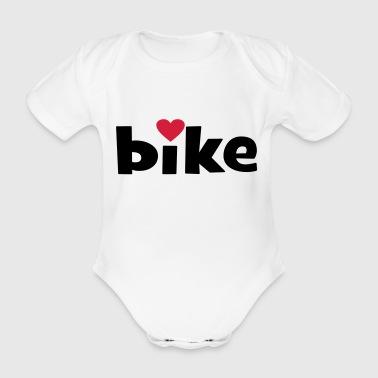 2541614 14760237 bike - Baby Bio-Kurzarm-Body