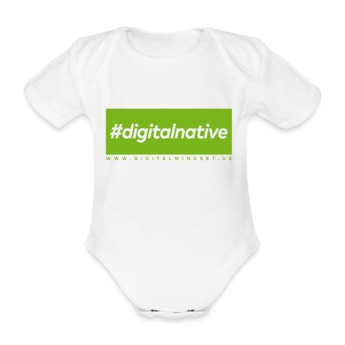 #digitalnative - Baby Bio-Kurzarm-Body