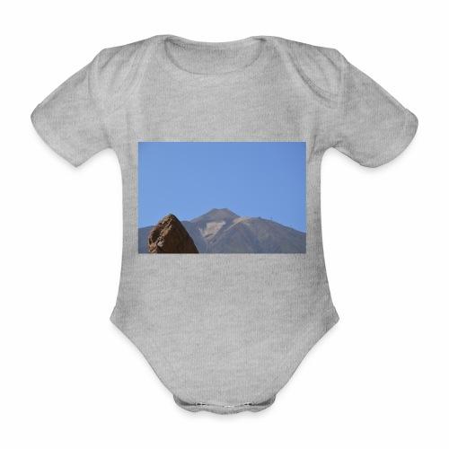 Teide - Teneriffa - Baby Bio-Kurzarm-Body