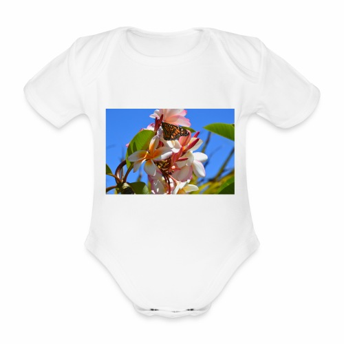 Schmetterling - Baby Bio-Kurzarm-Body