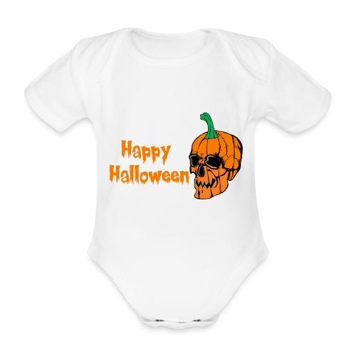 Happy Halloween - Organic Short-sleeved Baby Bodysuit