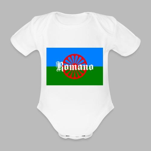 Flag of the Romanilenny people svg - Ekologisk kortärmad babybody