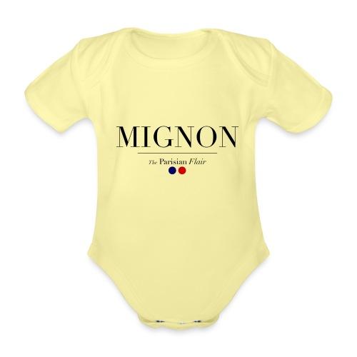 MIGNON 01 NOUNOURS png - Body Bébé bio manches courtes