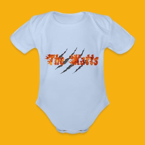 The Katts (logo 21x11) - Body Bébé bio manches courtes