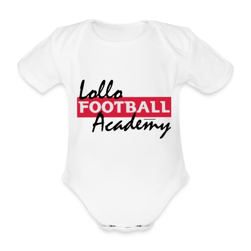 Hoodie - Lollo Academy - Ekologisk kortärmad babybody