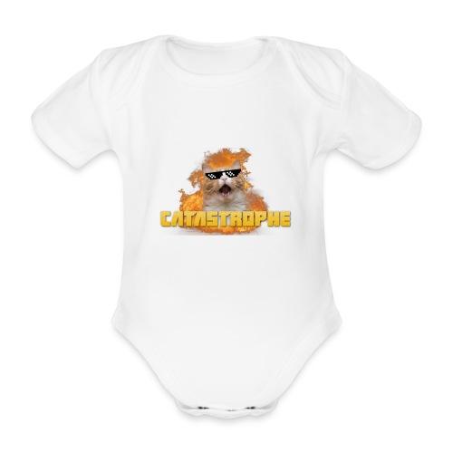 CATASTROPHE - Organic Short-sleeved Baby Bodysuit