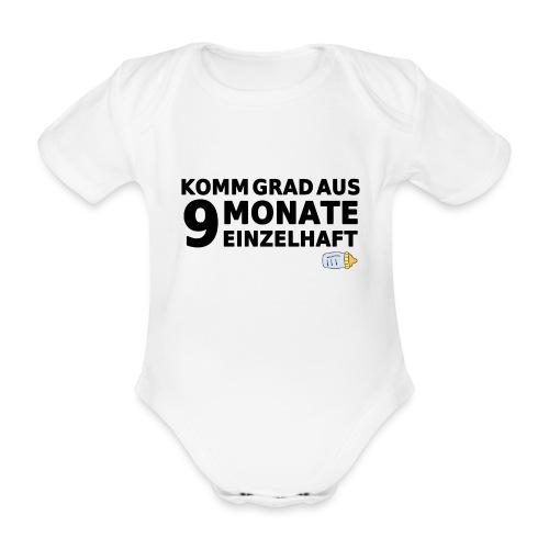 9monateeinzelhaft limited png - Baby Bio-Kurzarm-Body
