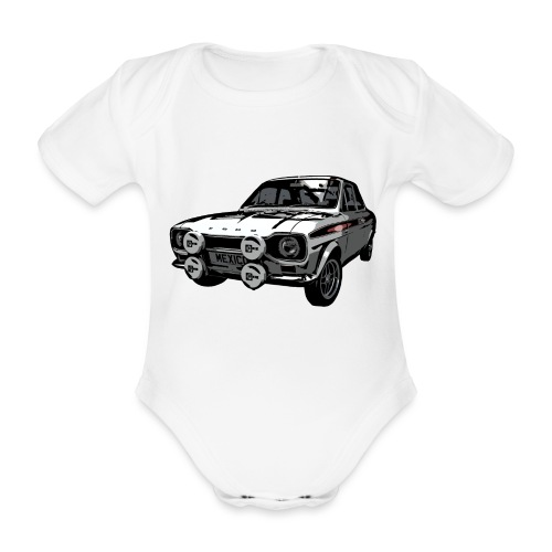 Mk1 Escort - Organic Short-sleeved Baby Bodysuit
