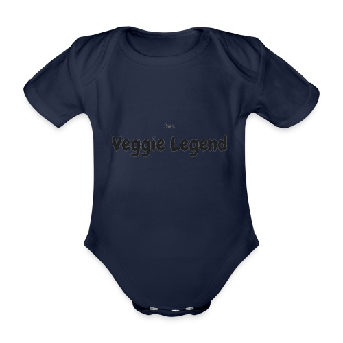 I'm a Veggie Legend - Organic Short-sleeved Baby Bodysuit