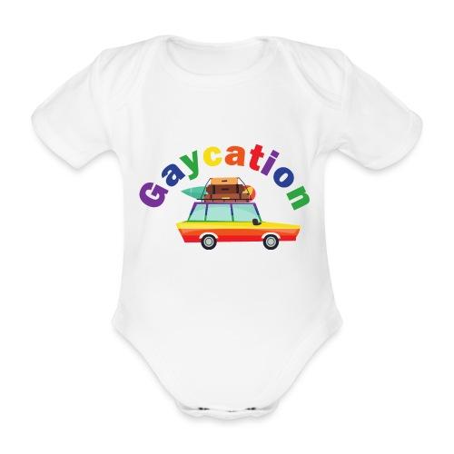 Gaycation | LGBT | Pride - Baby Bio-Kurzarm-Body
