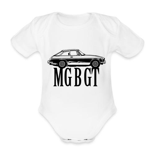 MG MGB GT - Autonaut.com - Organic Short-sleeved Baby Bodysuit