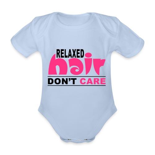 Relaxed Hair Don't Care - Organic Short-sleeved Baby Bodysuit