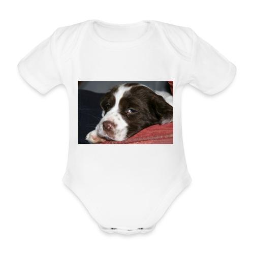 img 2980 - Organic Short-sleeved Baby Bodysuit