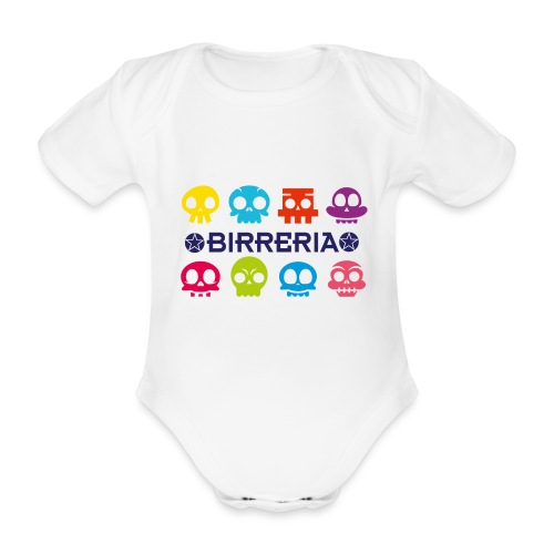 Birreria Kids Fun - Baby Bio-Kurzarm-Body